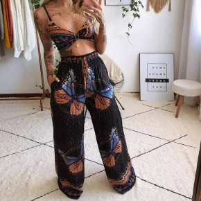 Γυναικείο σετ παντελόνι και τοπάκι 2132503