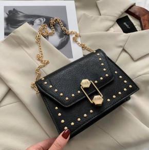 Γυναικεία τσάντα B323 μαύρη