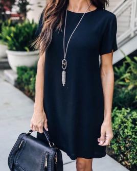 Γυναικείο φόρεμα 12204 μαύρο