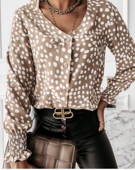 Γυναικεία μπλούζα με πριντ 430304