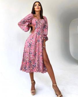 Γυναικείο μιντι φόρεμα 5588802