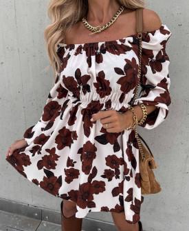 Γυναικείο έξωμο φόρεμα 2177101