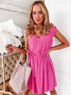 Γυναικείο φόρεμα 21222 φούξια