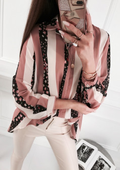 Γυναικείο πουκάμισο 5041 καφέ