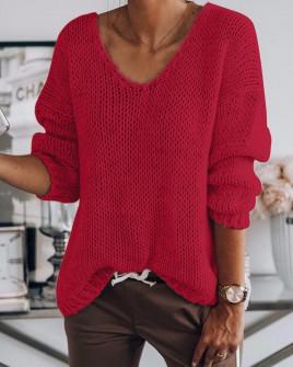 Γυναικείο πουλόβερ 888 κόκκινο