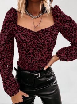 Γυναικεία μπλούζα με print 262003