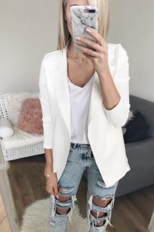 Γυναικείο σακάκι 2692 λευκό