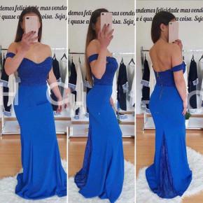 Γυναικείο φόρεμα 9698 μπλε