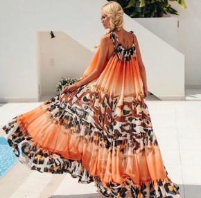 Γυναικείο μακρύ φόρεμα 501001