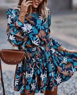 Γυναικείο φόρεμα με print 22554