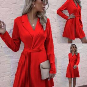 Γυναικείο εντυπωσιακό φόρεμα 8064 κόκκινο