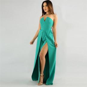 Γυναικεία ολόσωμη φόρμα 9496 πράσινο