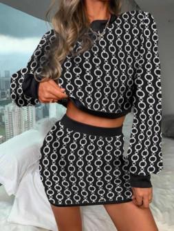 Σετ μπλούζα και φούστα 334205