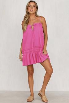 Γυναικείο φόρεμα 3659 φούξια