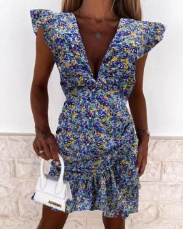 Γυναικείο φόρεμα με print 569904