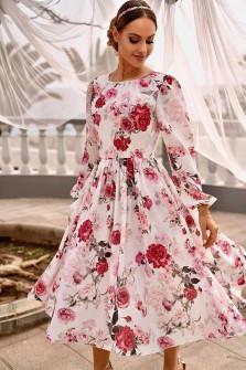 Γυναικείο φόρεμα φλοράλ 2983502