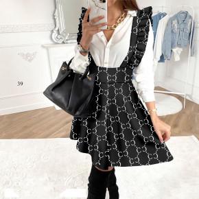 Γυναικεία φούστα με τιράντες 501702 σχέδια