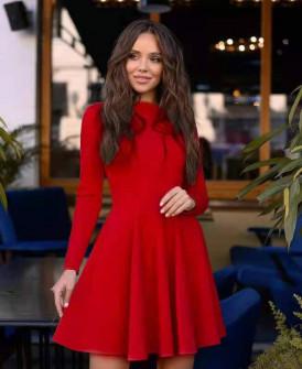 Γυναικείο κλος φόρεμα 5445 κόκκινο