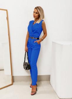 Γυναικεία ολόσωμη φόρμα 2520 μπλε ρουά
