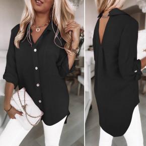 Γυναικείο χαλαρό φόρεμα 5874 μαύρο