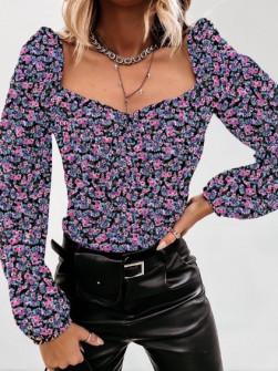 Γυναικεία μπλούζα με print 262004