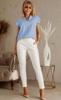 Γυναικεία στιλάτη μπλούζα 5611 γαλάζια