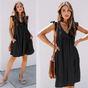 Γυναικείο φόρεμα 7074 μαύρο