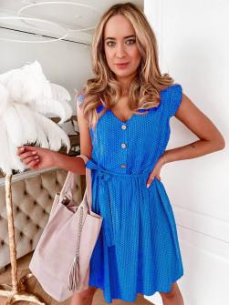 Γυναικείο φόρεμα 21222 μπλε
