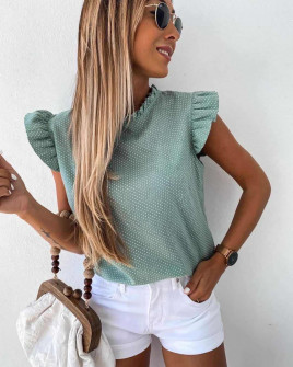 Γυναικεία μπλούζα πουά 2170