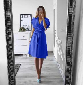 Γυναικείο φόρεμα με ζώνη 1978 μπλε