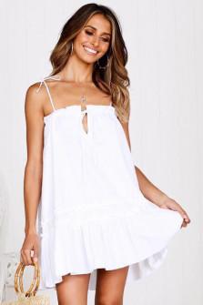 Γυναικείο φόρεμα 3659 λευκό