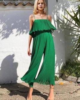 Γυναικεία ολόσωμη φόρμα σολέιγ 27918 πράσινη