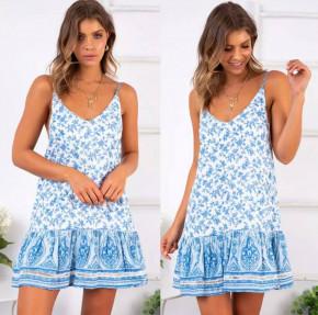 Γυναικείο φόρεμα με print 2150403