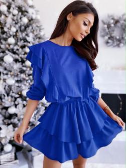 Γυναικεία εντυπωσιακό φόρεμα 1909 μπλε