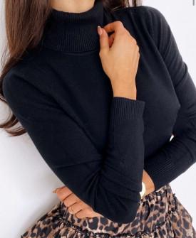 Γυναικεία μπλούζα ζιβάγκο 3483 μαύρη