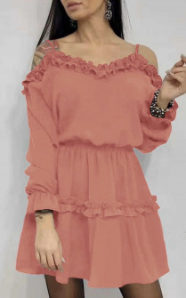 Γυναικείο φόρεμα 2011 κοραλί