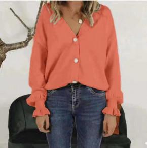 Γυναικείο πουκάμισο 1904 πορτοκαλί