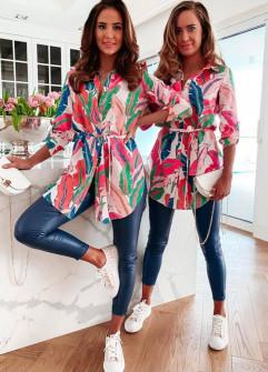 Γυναικείο πολύχρωμο πουκάμισο 21275