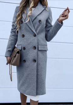 Γυναικείο παλτό 3836 μπλε