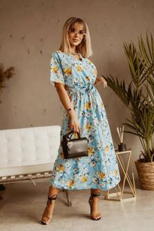 Γυναικείο φλοράλ φόρεμα 371702