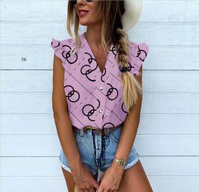Γυναικεία αμάνικη μπλούζα 505902 λιλά