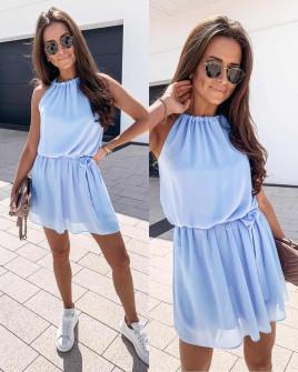 Γυναικείο φόρεμα 5125 γαλάζιο