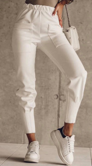 Γυναικείο παντελόνι 5542 άσπρο