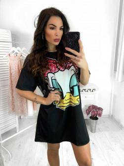 Γυναικείο μπλουζοφόρεμα 194304
