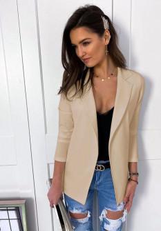 Γυναικείο σακάκι 5018 μπεζ