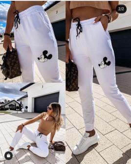 Γυναικείο παντελόνι φόρμα 2457 άσπρο