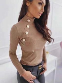 Γυναικεία μπλούζα 2881 καφέ