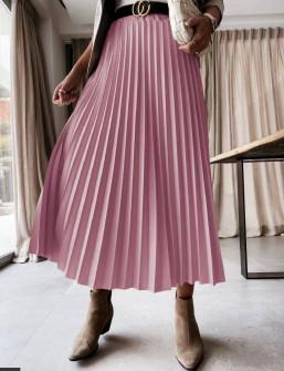 Γυναικεία φούστα σολέιγ 5644 μωβ