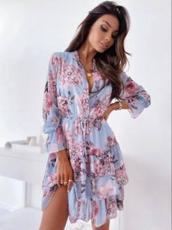 Γυναικείο φόρεμα με print 5590604