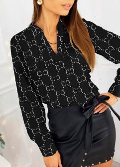 Γυναικεία μπλούζα 397402 μαύρη